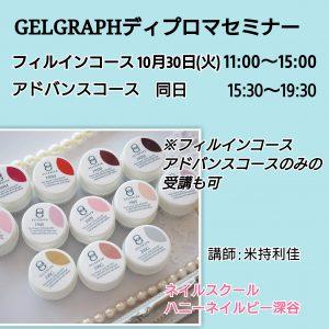 gelgraph フィルイン・アドバンスセミナー開催します